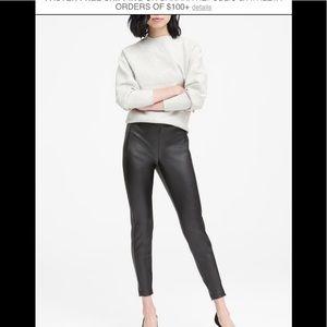 Banana Republic Devon Faux Leather Pants
